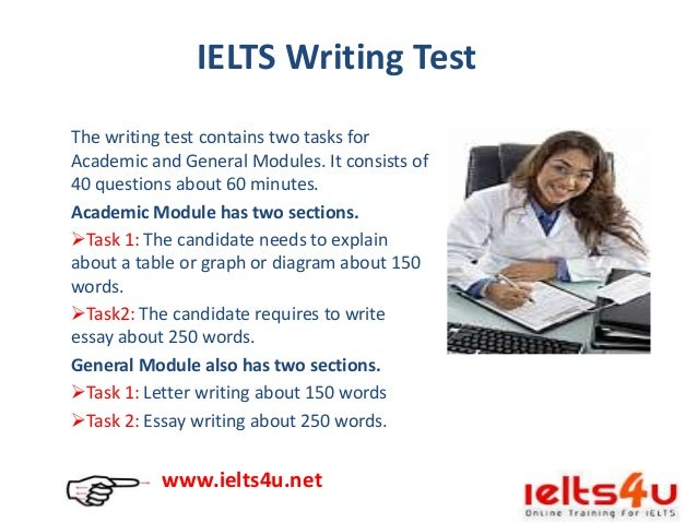 ielts academic and general writing Useful ielts writing task 1 tips, videos, answers & information for free to help you prepare successfully for task 1 develop your skills using these lessons for ielts writing task 1 academic and general training paper.
