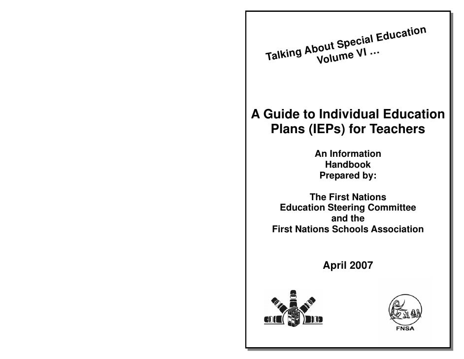 tion                   cial Educa          About Spe …   Talking Volume VI     A Guide to Individual Education    Plans (I...