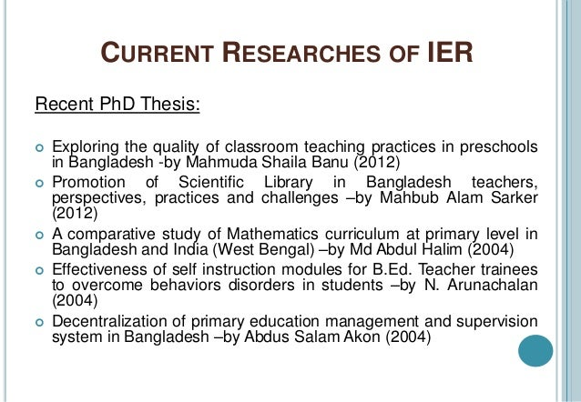 Phd thesis paper library