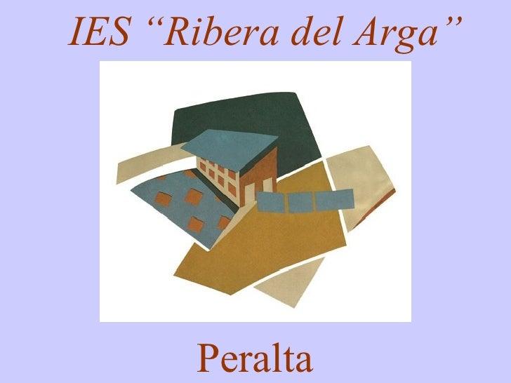 """IES """"Ribera del Arga"""" Peralta"""