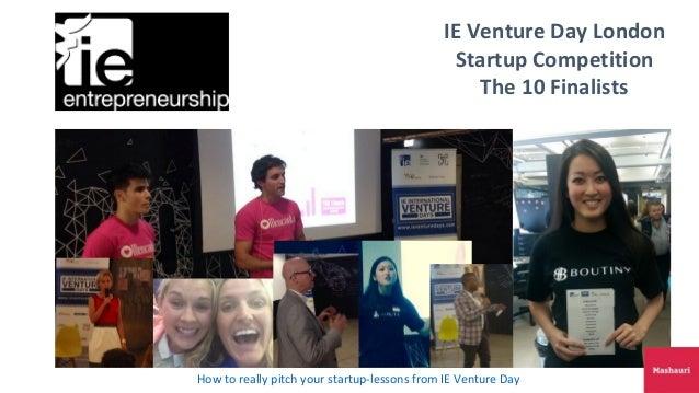 Ie venture day uk finalist
