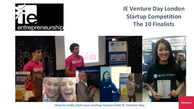 Ie venture day uk finalist