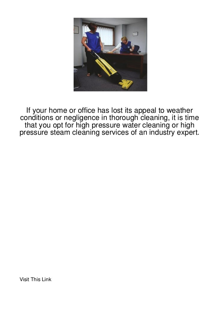 If your home or office has lost its appeal to weatherconditions or negligence in thorough cleaning, it is time that you op...