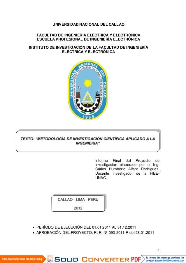 1  UNIVERSIDAD NACIONAL DEL CALLAO  FACULTAD DE INGENIERÍA ELÉCTRICA Y ELECTRÓNICA  ESCUELA PROFESIONAL DE INGENIERÍA ELEC...