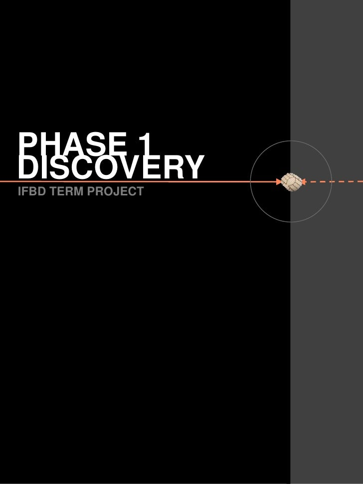 PHASE 1<br />DISCOVERY<br />IFBD TERM PROJECT<br />