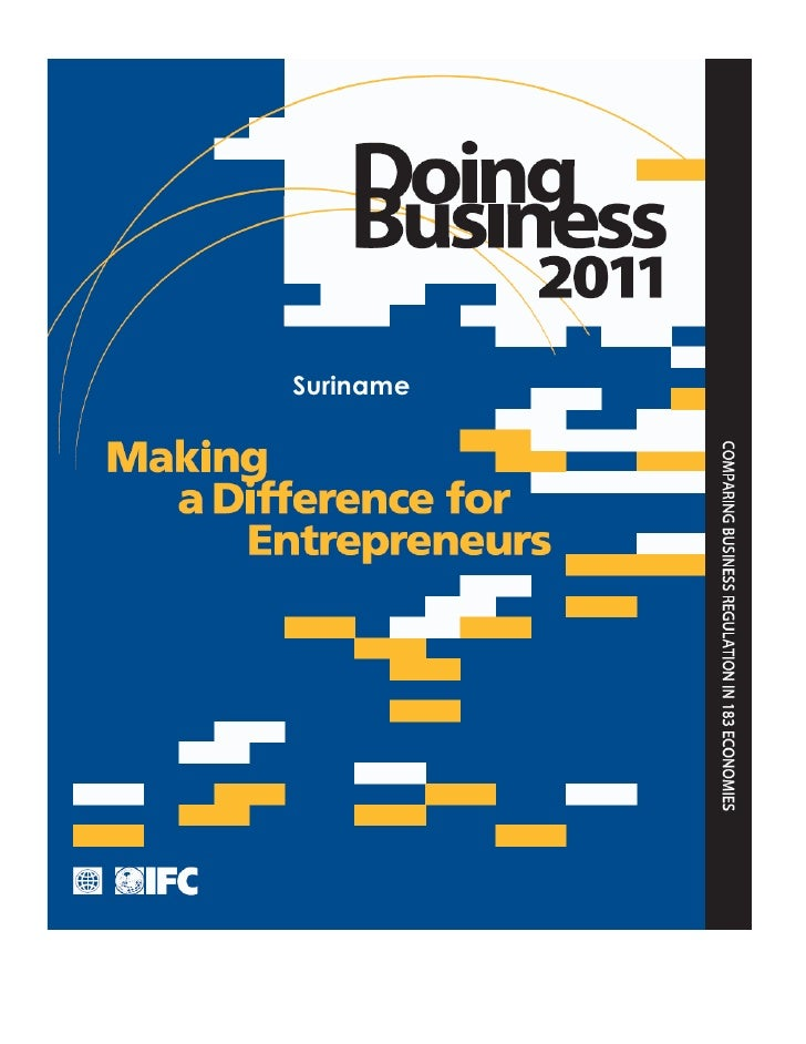 IFC - Doing Business 2011 - Suriname