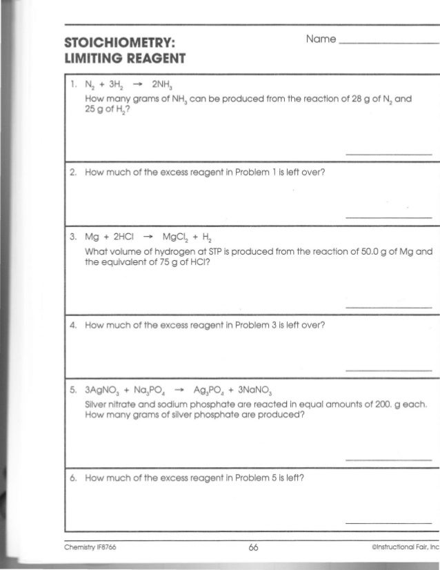 Worksheet Limiting Reagent Worksheet stoichiometry limiting reagent worksheet and if chemistry workbook ch099 a worksheet