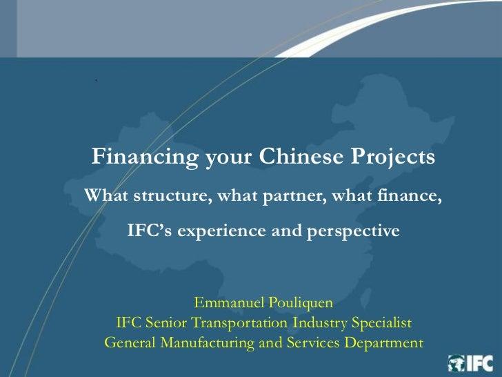 Ifc presentation gai china   21 sep 2006