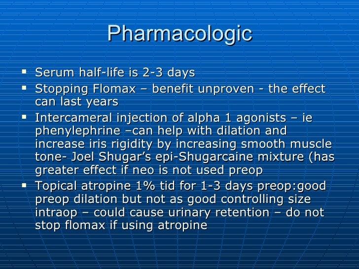 Flomax for urinary retention