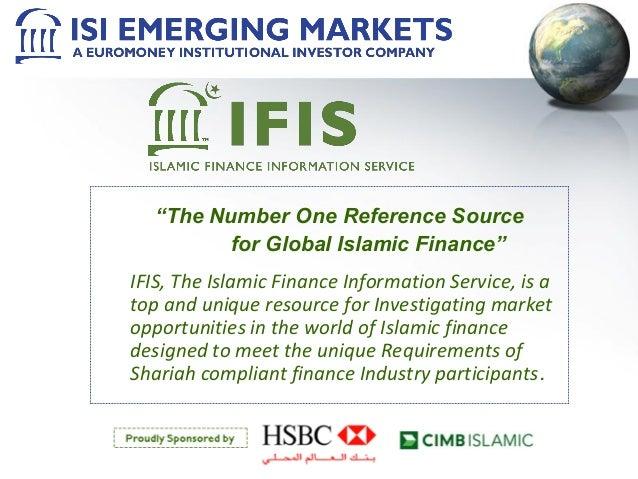 Islamic Finance Information Service (IFIS) Presentation October 2010