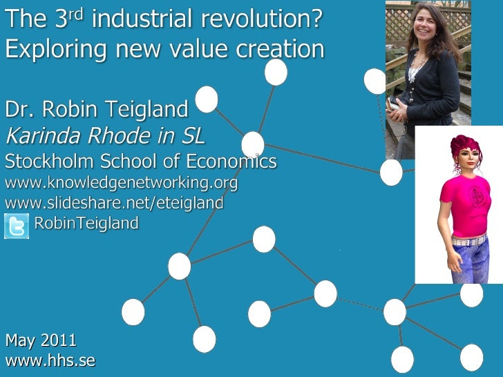 IFL May2011 Third Industrial Revolution