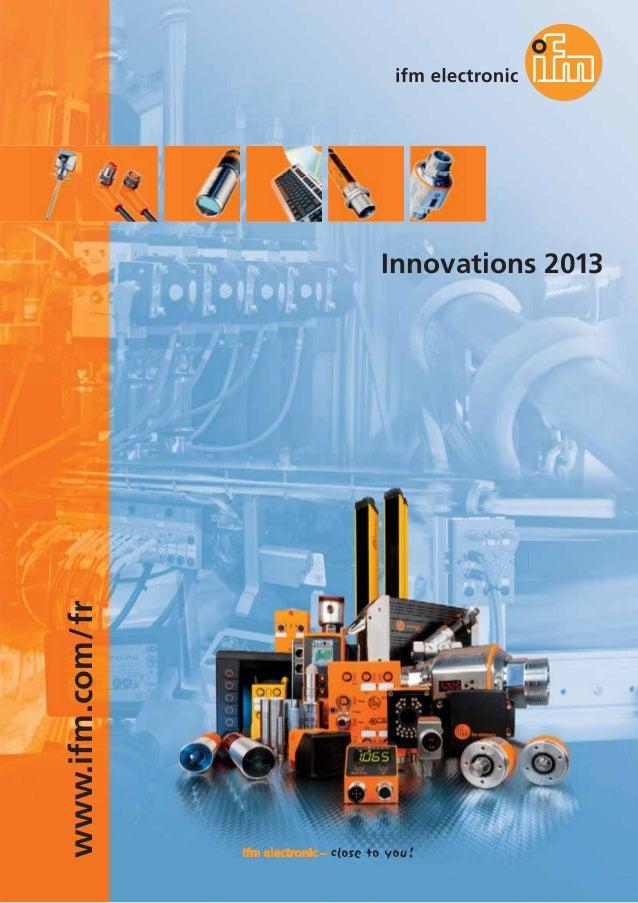 www.ifm.com/fr Innovations 2013