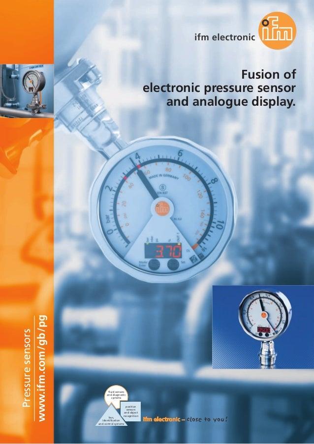 PG Pressure Sensor Brochure
