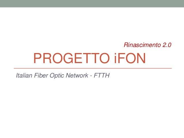 progetto iFon