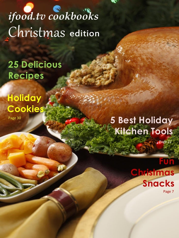 ifood.tv cookbooksChristmas edition25 DeliciousRecipesHolidayCookiesPage 30                     5 Best Holiday            ...