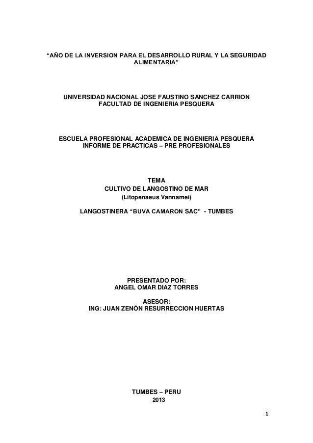 """1""""AÑO DE LA INVERSION PARA EL DESARROLLO RURAL Y LA SEGURIDADALIMENTARIA""""UNIVERSIDAD NACIONAL JOSE FAUSTINO SANCHEZ CARRIO..."""