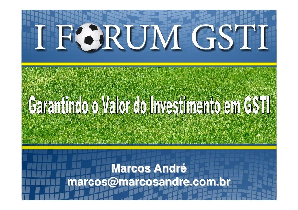 Marcos André marcos@marcosandre.com.br