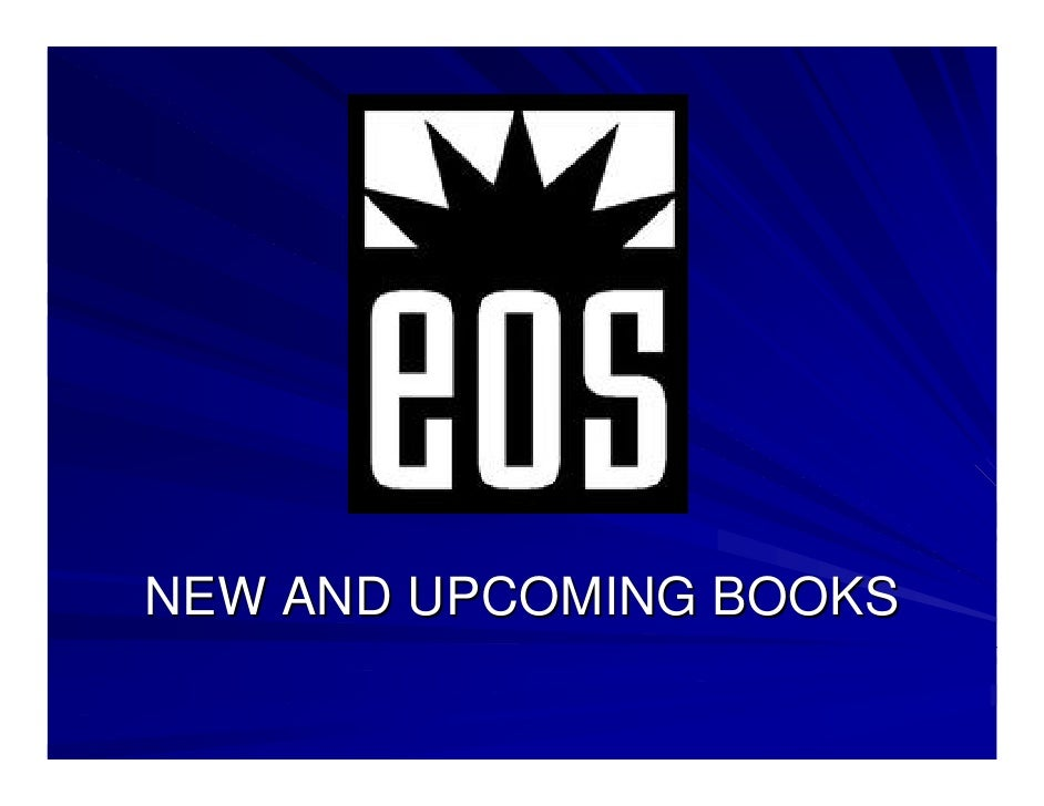 NEW AND UPCOMING BOOKS