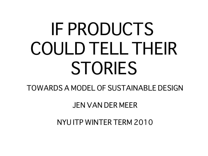 If Products Could Jan 25 2010