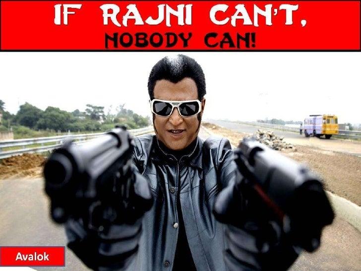 ENDHIRAN - IF RAJINI CANT...