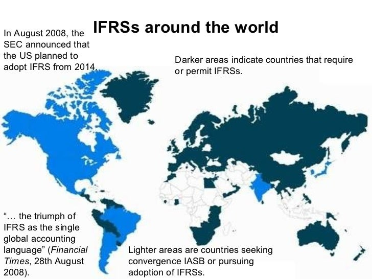 ifrs adoption in the us
