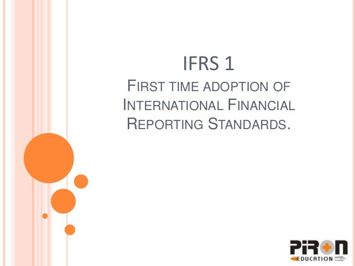 AASB and adoption of IFRS Paper