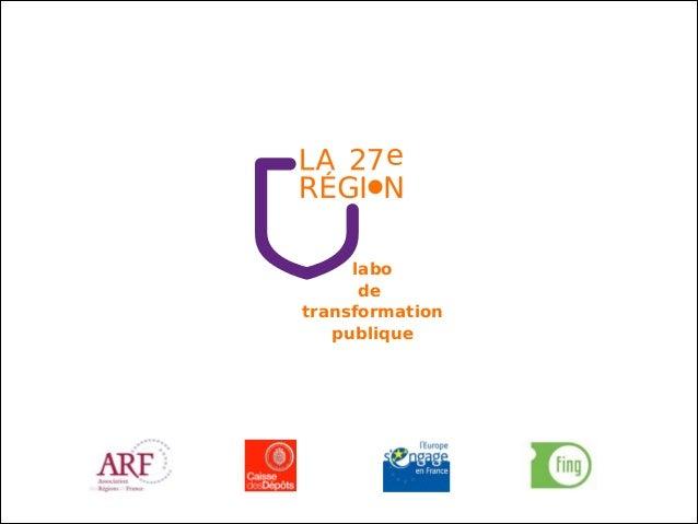 labo de transformation publique