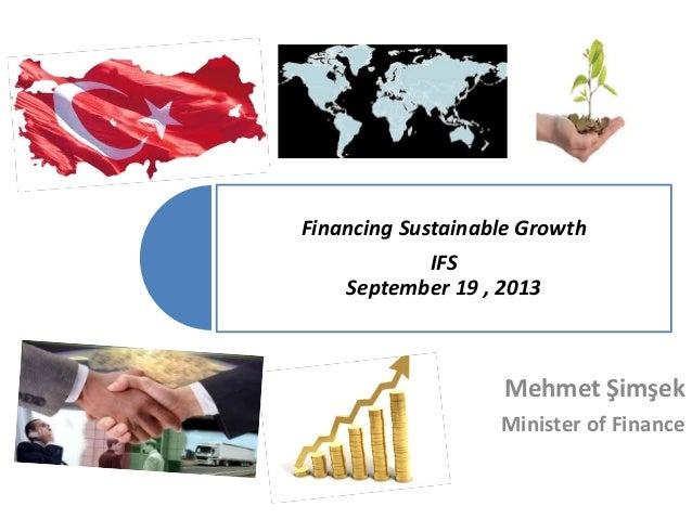 Financing Sustainable Growth 19.09.2013