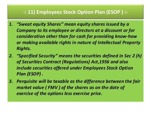 Stock options issued below fair market value