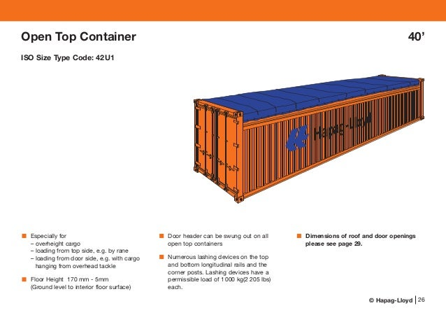 Especifica 231 227 O De Containers