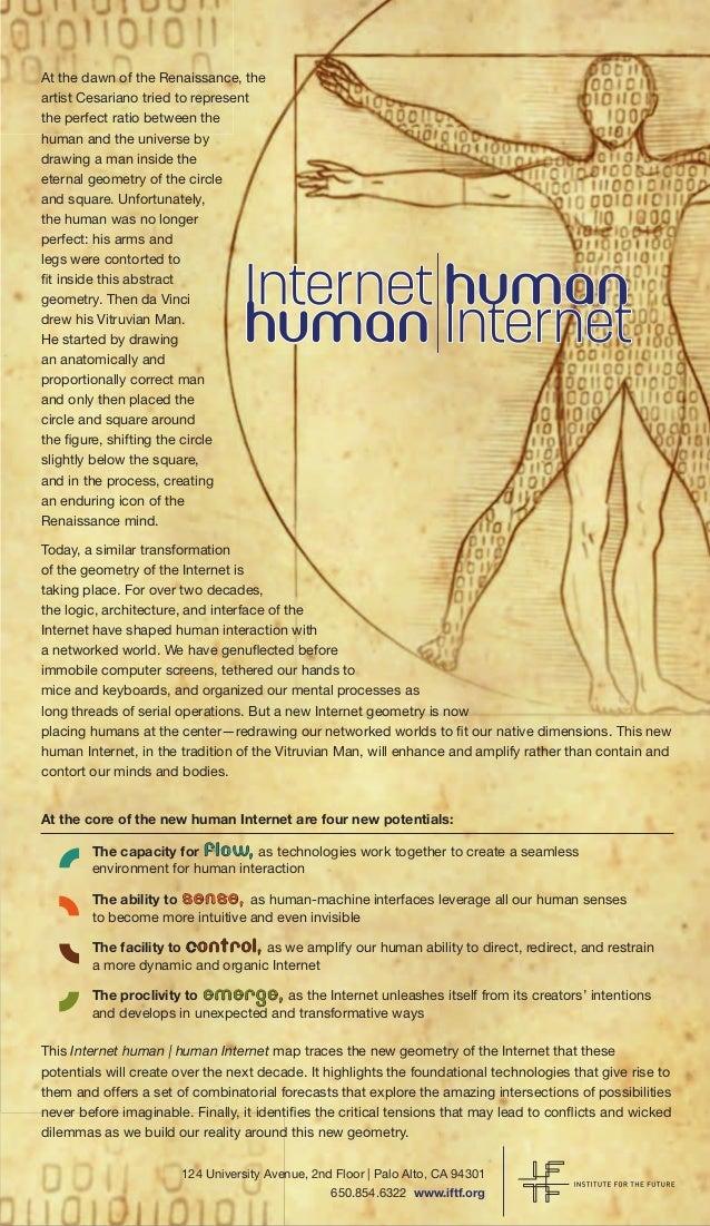 Internet human map