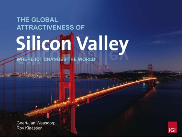 Geographic perspective of Sillicon Valley