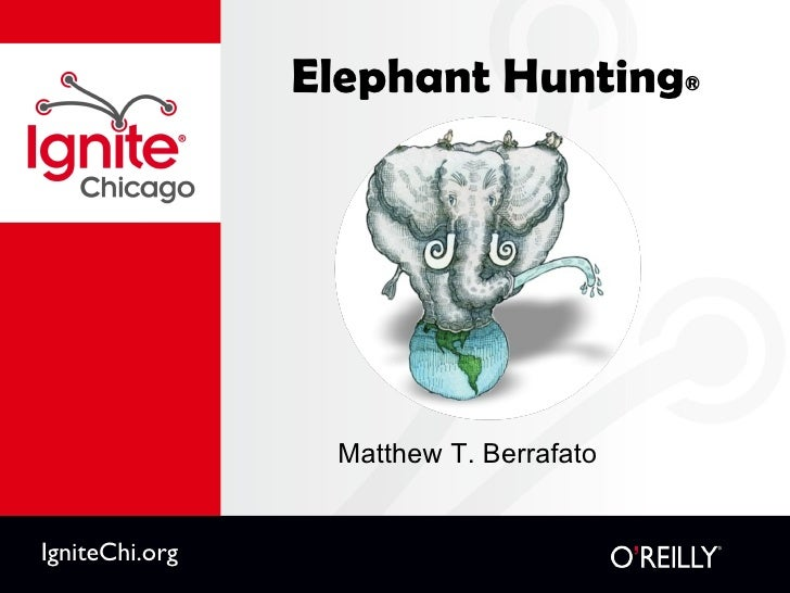 Elephant Hunting ® <ul><li>Matthew T. Berrafato </li></ul>IgniteChi.org