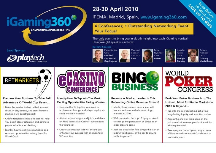 iGaming360 Brochure