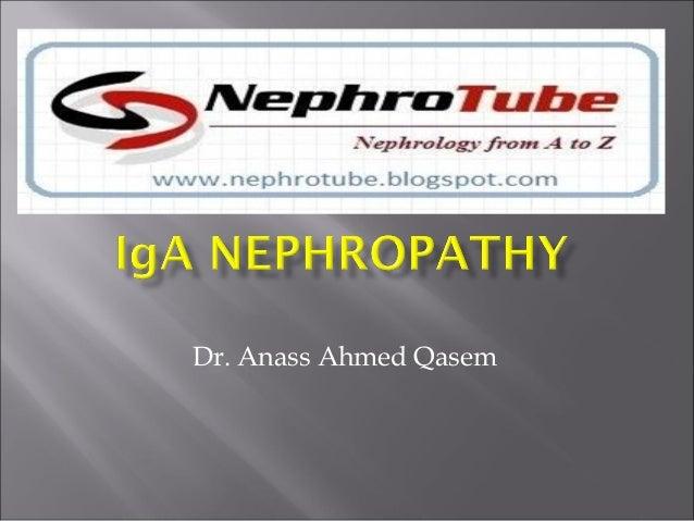IgA nephropathy