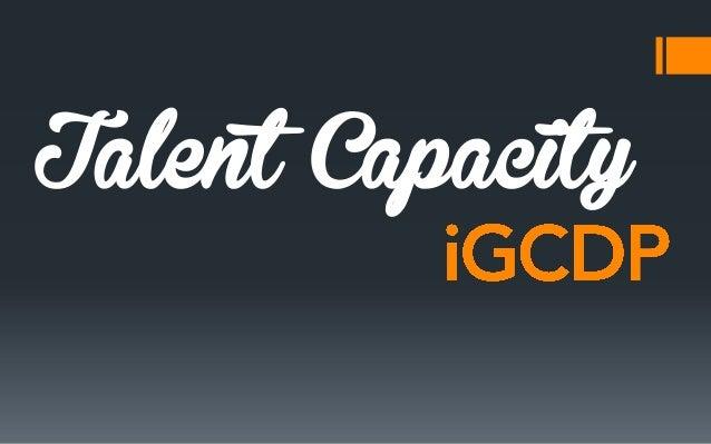 iGCDP (Capacity)