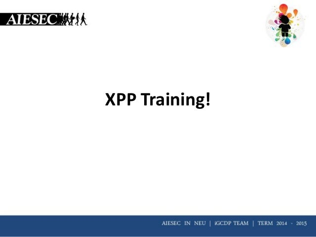 XPP Training!