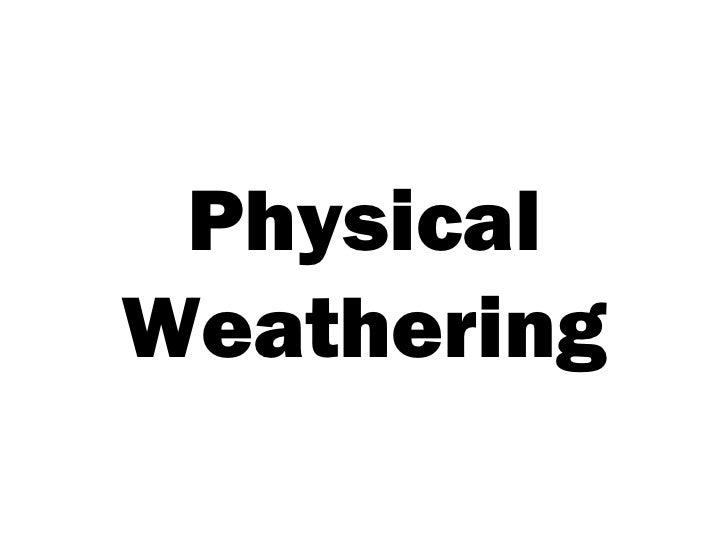 IGCSE Geography: Weathering: Weathering