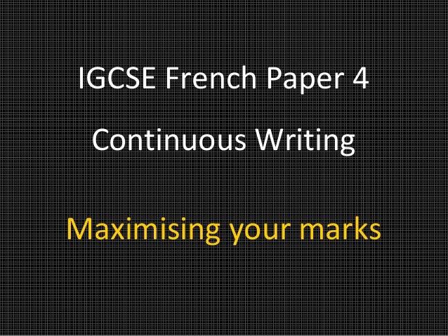 IGCSE Paper 4 Explained