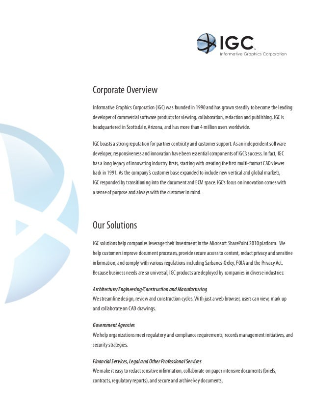 IGC Microsoft SharePoint Solutions