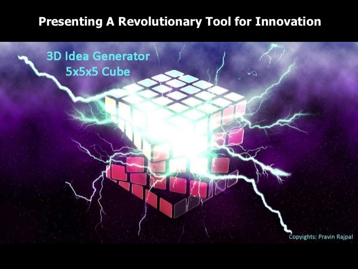 Presenting A Revolutionary Tool for Innovation