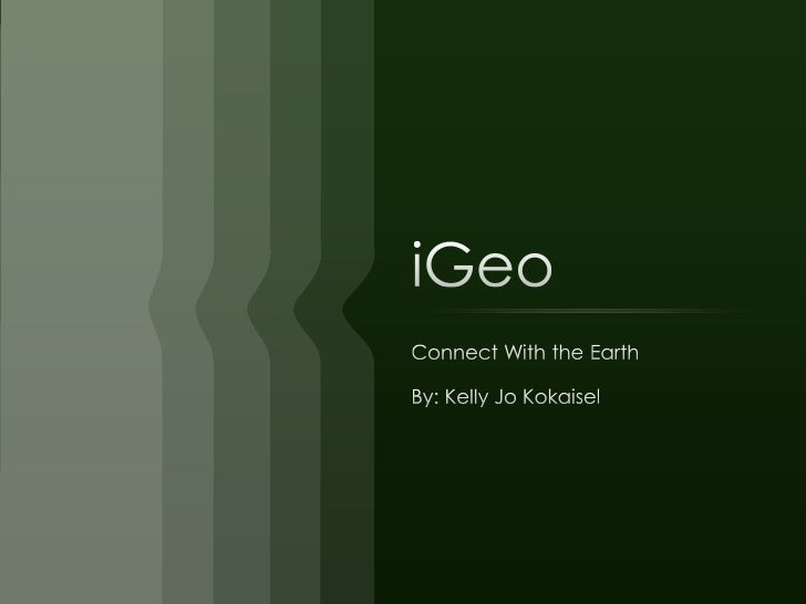 iGeo - iPhone Product (concept)
