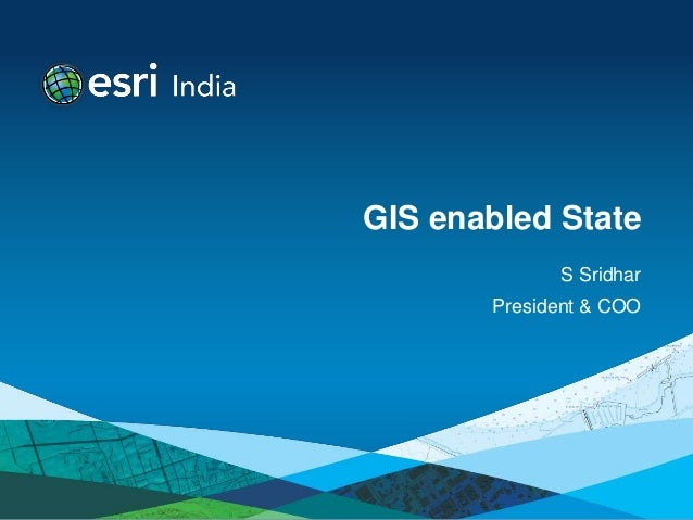 GIS enabled State