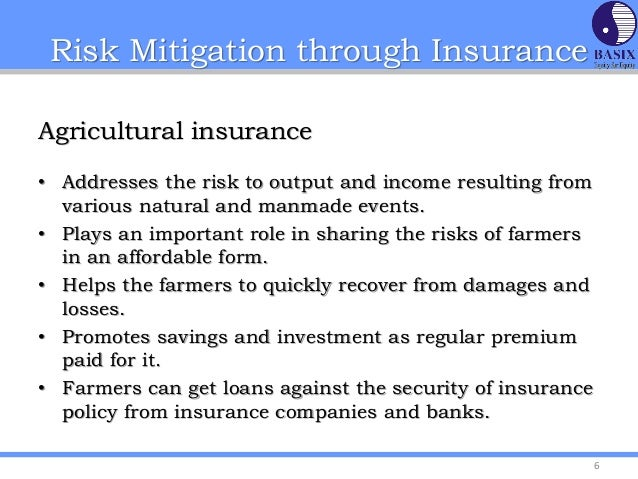 discussion risk mitigation control essay Risk is the possibility of losing something of value values (such as physical health, social status, emotional well-being, or financial wealth) can be gained or lost when taking risk resulting from a given action or inaction, foreseen or unforeseen (planned or not planned.