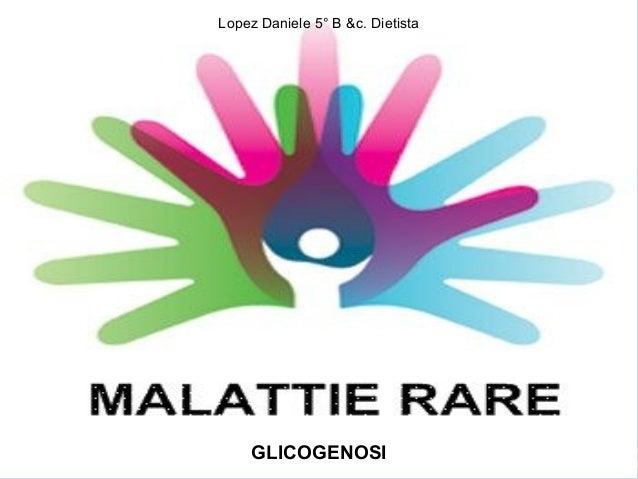 Igiene glicogenosi