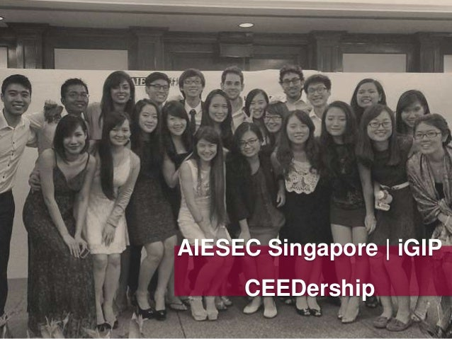 AIESEC Singapore | iGIP CEEDership