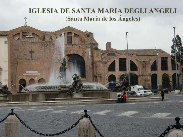 Iglesia De Santa Mara De Los Ngeles