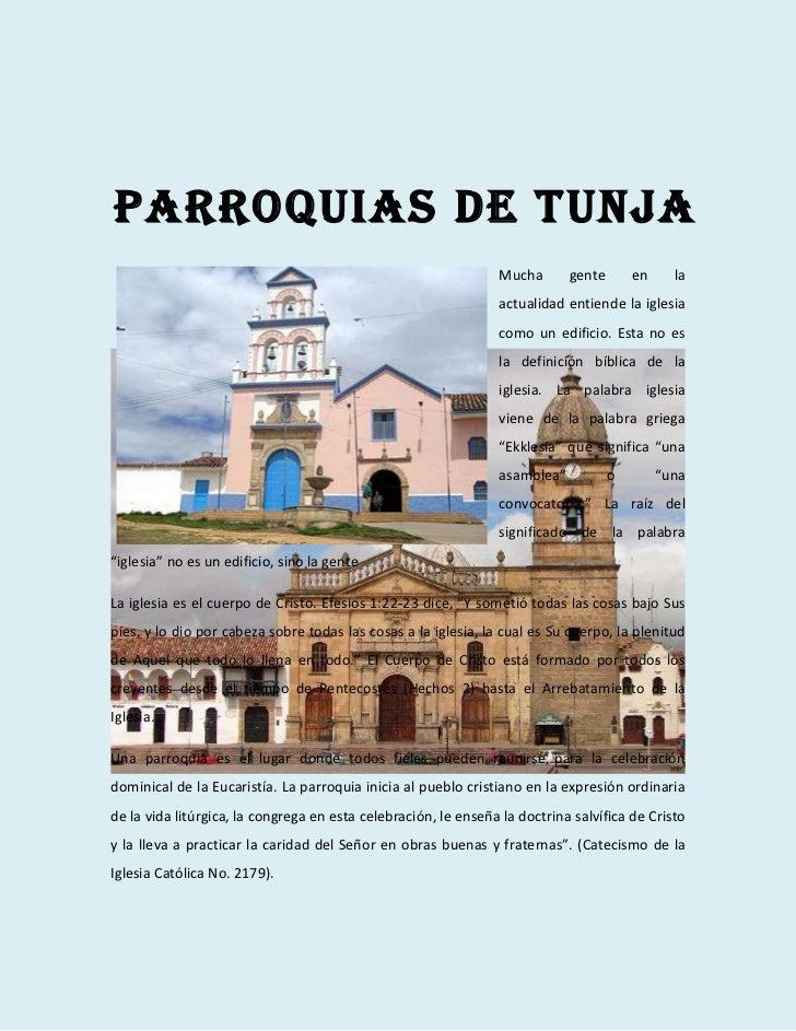 Parroquias de tunja                                                                Mucha       gente       en     la      ...