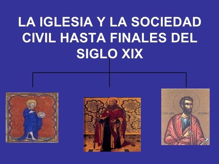 iglesia sociedad: