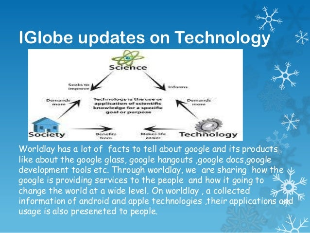 IGlobe updates on Technology  Worldlay has a lot of facts to tell about google and its products like about the google glas...